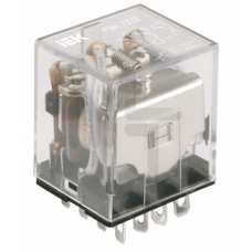 Реле РЭК78/3(MY3) с индикацией 5А  24В DC ИЭК RRP20-3-05-024D-LED
