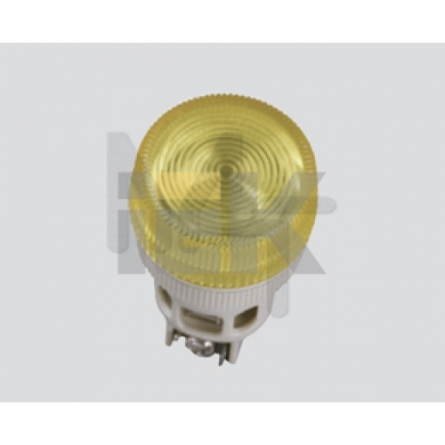 Кнопка управления LAY5-BL51 без подсветки желтая 1з ИЭК BBT71-BL-K05