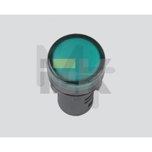 Лампа AD22DS(LED)матрица d22мм синий 24В AC/DC  ИЭК BLS10-ADDS-024-K07