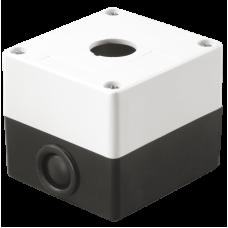 Корпус КП101 для кнопок 1место белый ИЭК BKP10-1-K01