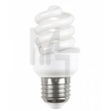 Лампа энергосберегающая спираль КЭЛ-FS Е14 15Вт 4000К Т2 ИЭК LLE25-14-015-4000-T2