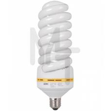 Лампа спираль КЭЛ-FS Е27 65Вт 6500К  ИЭК LLE25-27-65-6500