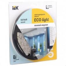 Лента LED 5м  блистер LSR-3528W60-4.8-IP20-12V IEK-eco LSR1-2-060-20-1-05