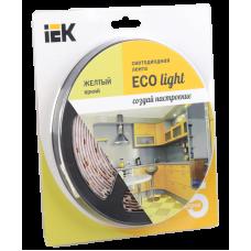 Лента LED 5м  блистер LSR-3528Y60-4.8-IP20-12V IEK-eco LSR1-4-060-20-1-05