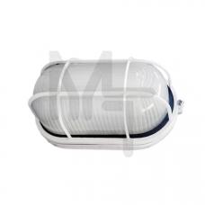 Светильник НПП1402 белый/овал с реш.60Вт IP54  ИЭК LNPP0-1402-1-060-K01