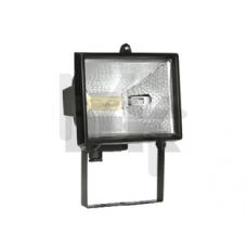 Прожектор ИО150 галогенный  черный IP54  ИЭК LPI01-1-0150-K02