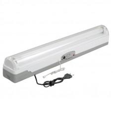 Светильник ЛБА 3924A, аккумулятор, 4 ч., 1х20Вт, T8/G13 ИЭК LLBA1-3924A-1-20-K01