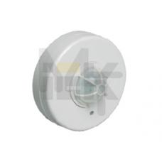 Датчик движения ДД 024 белый, макс. нагрузка 1100Вт, угол обзора 120-360гра, дальность 6м, IP33, ИЭК LDD11-024-1100-001
