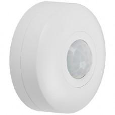 Датчик движения ДД 025 белый, 1200Вт, 360 гр.,6М,IP20,IEK LDD11-025-1200-001
