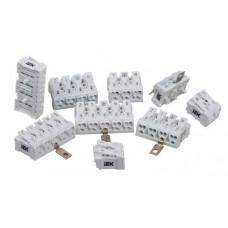 Клемма пружинная соединительная КСП2-L+N IEK UKZ-B06-2P-F0-E0-10