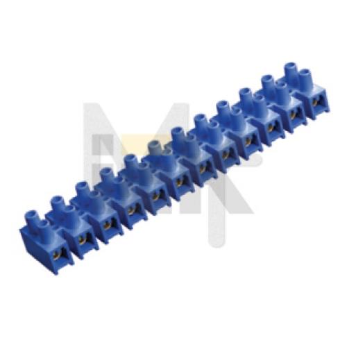 Зажим винтовой ЗВИ-30 н/г 6-16мм2 12пар ИЭК синие UZV6-030-10