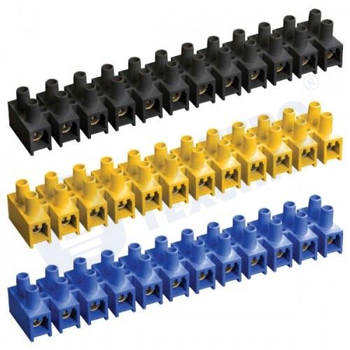 Зажим винтовой ЗВИ-100 н/г 10-25мм2 12пар ИЭК черные UZV5-100-25