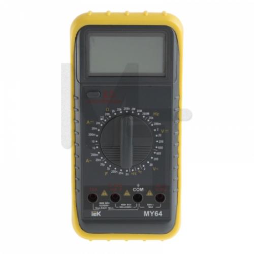 Мультиметр цифровой  Professional MY64 IEK TMD-5S-064