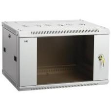ITK Шкаф LINEA W 12U 600x450 мм дверь стекло, RAL7035 LWR3-12U64-GF