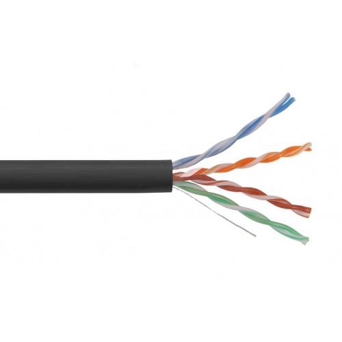 ITK Каб. вп U/UTP, кат.5E 4х2х24AWG solid, LDPE, 305м, LC3-C5E04-139