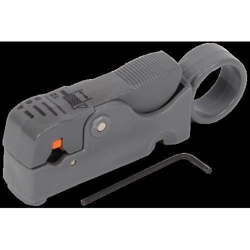 ITK Инструмент для зачистки и обрезки коакс кабеля TS2-GR10