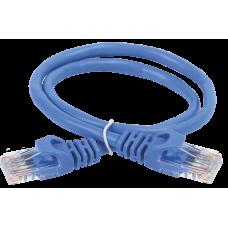 ITK Коммутационный шнур (патч-корд), кат.5Е UTP, 1м, синий PC03-C5EU-1M