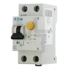 PFL6-32/1N/C/003 Дифференциальный автоматический выключатель 32/0,03А, кривая отключения С, 1+N полюсов, откл. способность 6 кА 286470