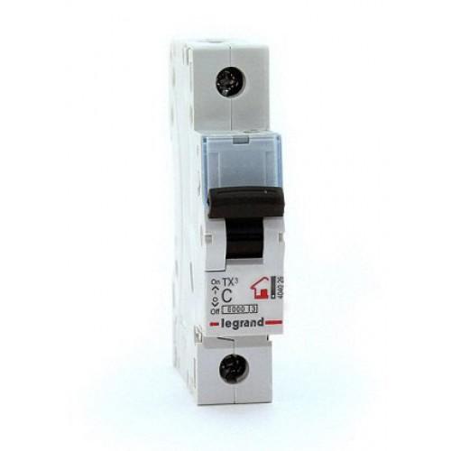 Legrand TX3 Автоматический выключатель 1P 10A (С) 6000 404026