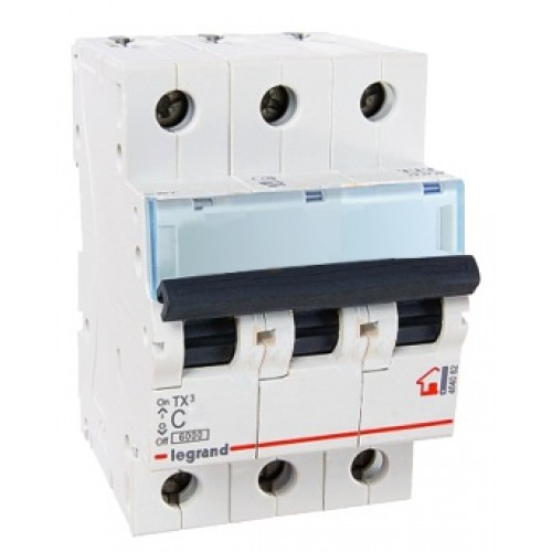 Legrand TX3 Автоматический выключатель 3P 32A (С) 6000 404059