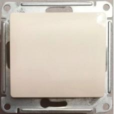 Glossa Беж Выключатель 1-клавишный, сх.1 Schnaider GSL000211
