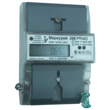 Счетчик Меркурий 201.2 (1ф, ЖКИ, на DIN) Ц030924