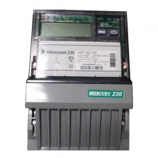 Счетчик Меркурий 230 ART-02 (CN или RN) (3ф, ЖКИ, многотариф, в щиток) Ц030936