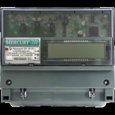 Счетчик Меркурий 231 AT-01 I (3ф, ЖКИ, многотариф, на DIN) Ц028300