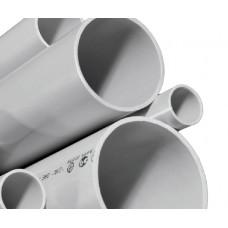 Труба жесткая ПВХ 3-х метровая легкая атмосферостойкая д25 (120м/уп) Промрукав PR.01425