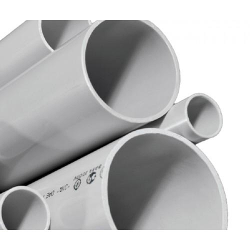 Труба жесткая ПВХ 3-х метровая легкая атмосферостойкая д25 (120м/уп) Промрукав 01425
