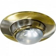 Светильник 020 R-50 титан-золото /D/L E14 TN-GD 10844