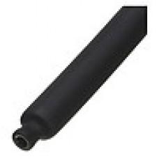 Термоусадочная трубка ТУТнг-10/5 черная (КВТ) 60090