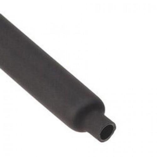 Термоусадочная трубка ТУТнг-12/6 черная (КВТ) 60091