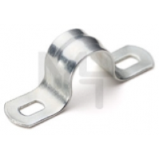 Скоба металл. двухлапковая СМД 16-17 (100шт) (Fortisflex) 49374