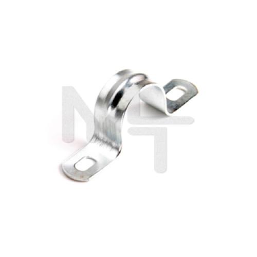 Скоба металл. двухлапковая СМД 60-63 (50шт) (Fortisflex) 60480
