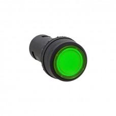 Кнопка SW2C-10D с подсветкой зеленая NO EKF PROxima sw2c-md-g