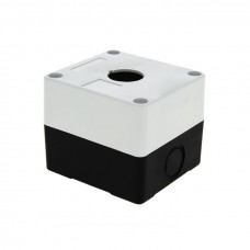 Корпус КП101 пластиковый 1 кнопка белый EKF PROxima cpb-101-w