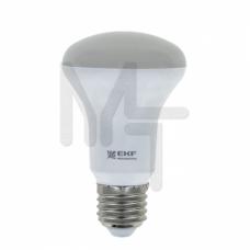 Лампа светодиодная FLL-R63 8W 2700К E27 EKF Simple FLL-R63-8-230-2.7K-E27