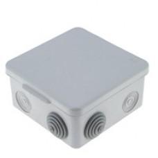 Коробка распаячная КМР-030-014 с крышкой  наружная (100х100х55), 8 мембранных вводов IP54 EKF PROxima plc-kmr-030-014