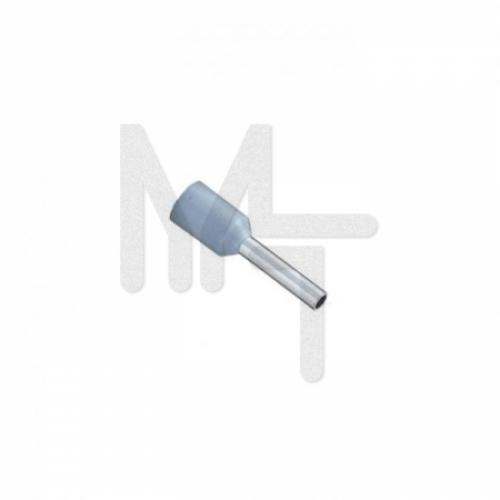 Наконечник штыревой втулочный изолированный  НШвИ 0,75-8 (50шт.) EKF PROxima nhvi-0.75-8