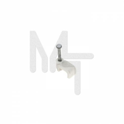 Скоба крепежная квадратная (плоская)  (8мм (50шт.) EKF PROxima plcn-ss-8