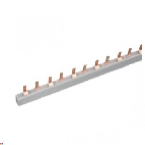 Шина соединительная типа PIN для 4-ф нагр. 100А 54 мод. EKF PROxima pin-04-100