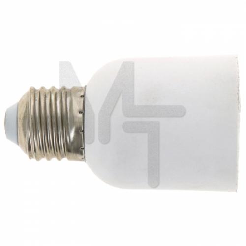 Переходник E27-E40 бел. EKF PROxima AD-E27-E40-w