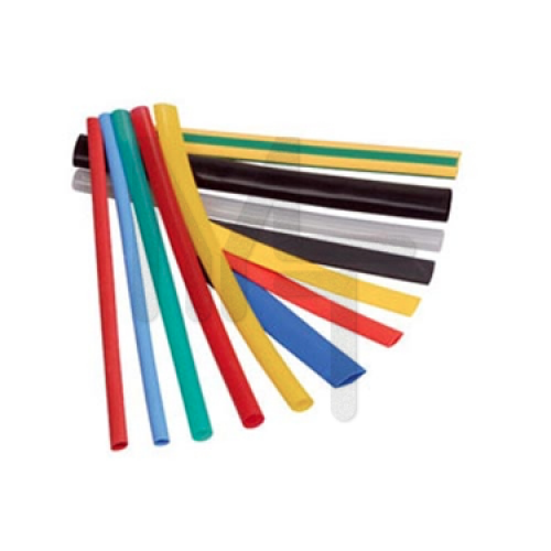 Термоусаживаемая трубка ТУТ 16/8 набор:7 цветов по 3шт. 100мм. EKF PROxima tut-n-16