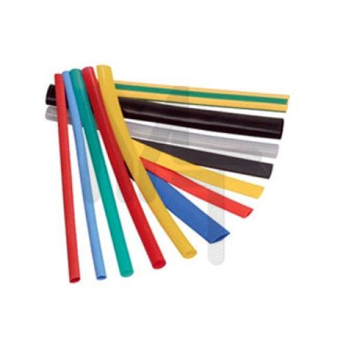Термоусаживаемая трубка ТУТ 20/10 набор:7 цветов по 3шт. 100мм. EKF PROxima tut-n-20