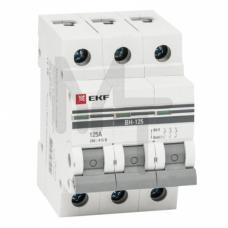 Выключатель нагрузки 3P 63А ВН-63 EKF PROxima SL63-3-63-pro