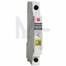 Лампа сигнальная ЛС-47 (желтая) EKF PROxima mdla-47-y-pro