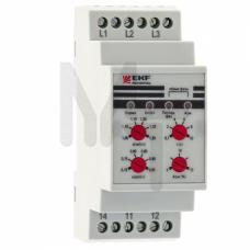 Реле контроля фаз многофункциональное RKF-8 EKF PROxima rkf-8