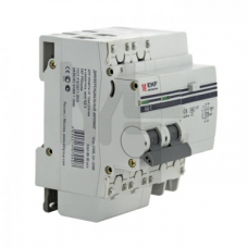 Дифференциальный автомат АД-32 3P+N 16А/30мА (хар. C, AC, электронный, защита 270В) 4,5кА EKF PROxima DA32-16-30-4P-pro