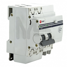 Дифференциальный автомат АД-32 1P+N 25А/30мА (хар. C, AC, электронный, защита 270В) 4,5кА EKF PROxima DA32-25-30-pro